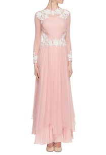 pink-bead-and-applique-work-dress