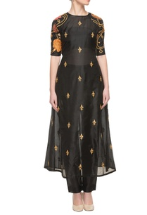 black-silk-embroidered-kurta-with-bottoms