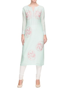 baby-blue-embroidered-kurta