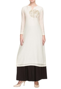 ivory-embellished-kurta