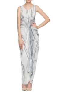 white-grey-tie-dye-maxi-dress