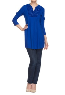 royal-blue-embellished-kurta