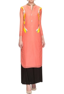 peach-sequin-embellished-tunic