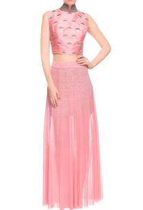 pink-embroidered-crop-top-and-skirt-drape-set