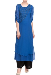 royal-blue-embellished-long-kurta