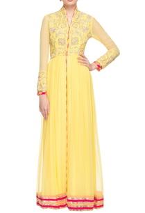 yellow-gold-embellished-front-slit-anarkali