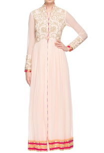 light-pink-gold-embellished-front-slit-anarkali