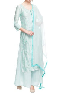 pastel-blue-embroidered-kurta-set