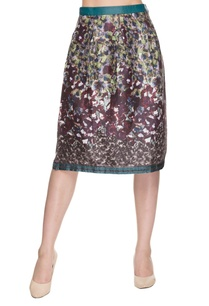 multi-colored-floral-printed-skirt