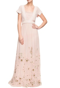 white-and-pink-pleated-maxi-dress-with-floral-details