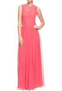coral-beaded-maxi-dress