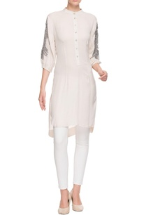 white-high-low-tunic-with-bead-embellishments