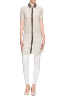 white-printed-shirt-tunic-with-embellished-collar