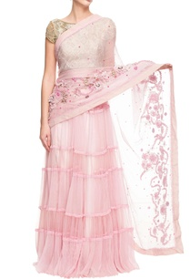 baby-pink-net-embroidered-sari