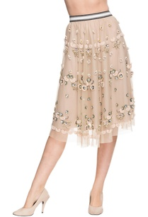 cream-skirt-with-bead-and-sequin-work
