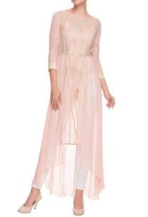 pastel-pink-embroidered-kurta-with-drawstrings