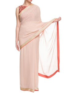 rose-pink-coral-embroidered-sari
