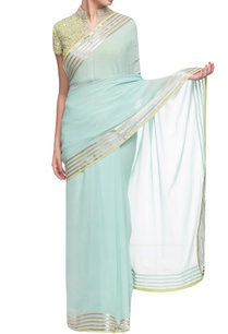 light-blue-border-detailed-sari-with-blouse