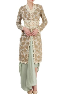 ivory-embroidered-kurta-pastel-blue-dhoti-skirt