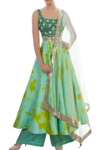 blue-lime-tie-dye-print-anarkali-set