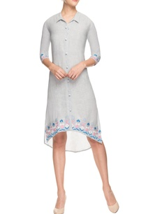 lavender-shirt-dress-with-embroidery