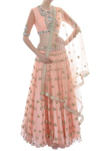 peach-lehenga-set-with-embellished-elephant-motifs