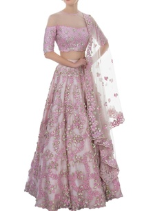 lavender-mirror-work-lehenga-set