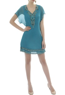 blue-batwing-dress