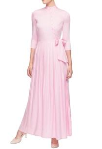 light-pink-full-length-dress