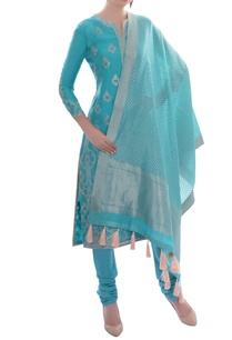 sky-blue-embroidered-kurta-set