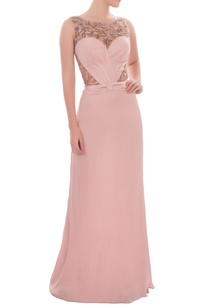 blush-pink-sleeveless-gown-with-sequin-embroidery