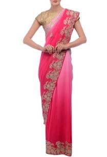 pink-floral-embellished-sari