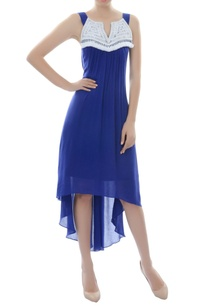 royal-blue-asymmetric-dress