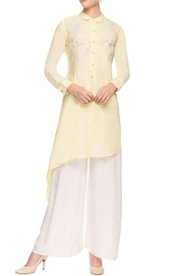 pastel-yellow-kurta