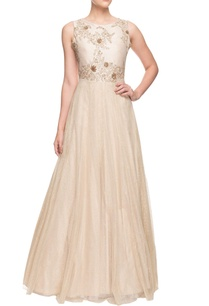 ivory-flared-embroidered-gown