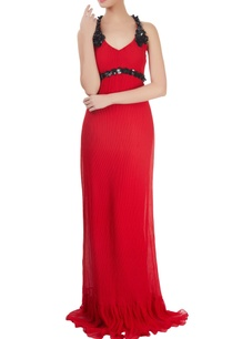 red-embellished-gown