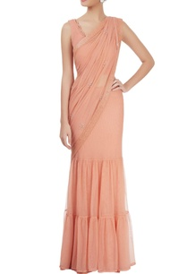 peach-embroidered-sari-with-cutout-blouse