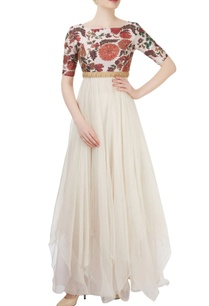 white-embellished-anarkali