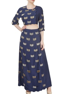 navy-blue-divider-skirt-with-top