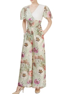 light-green-jumpsuit-with-floral-pattern