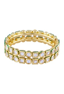 gold-finish-double-layered-kundan-bracelet