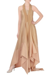 beige-maxi-dress-with-halter-neck-style