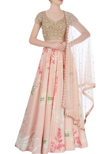 multicolored-lehenga-with-gemstone-and-pearl-work