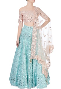 peach-blue-lehenga-set-with-sequence-embroidery