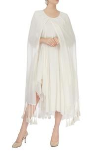 white-asymmetric-flowy-dress