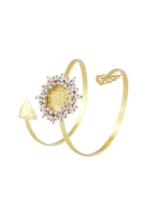 gold-finish-cutwork-cuff