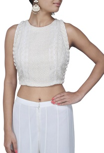 ivory-pearl-embellished-crop-top
