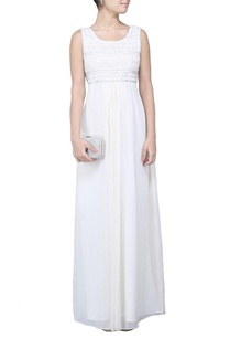 ivory-sequin-embellished-maxi-dress