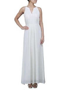 white-pearl-embellished-maxi-dress