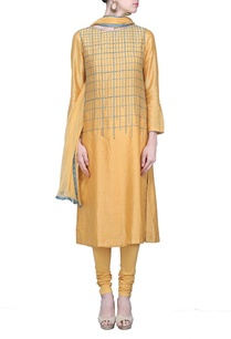fawn-embroidered-kurta-set